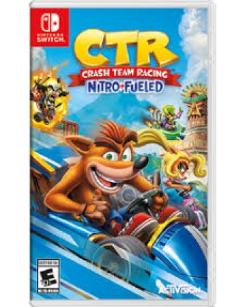 Crash Team Racing Nitro Fueled Nintendo Switch NAUDOTAS