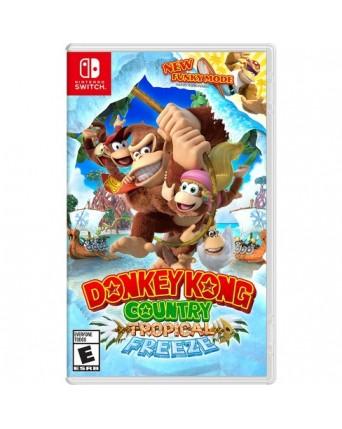Donkey Kong Country Tropical Freeze Nintendo Switch NAUDOTAS