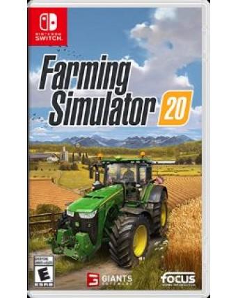Farming Simulator 20 Nintendo Switch NAUDOTAS