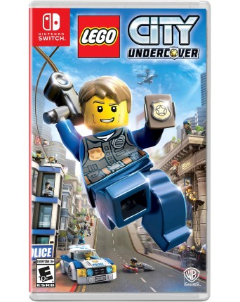 Lego City Undercover Nintendo Switch NAUDOTAS