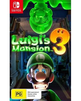 Luigis Mansion 3 Nintendo Switch NAUDOTAS