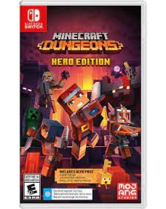 Minecraft Dungeons Hero Edition Nintendo Switch NAUJAS