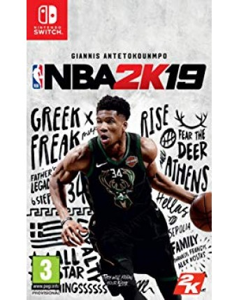 NBA 2K19 Nintendo Switch NAUDOTAS