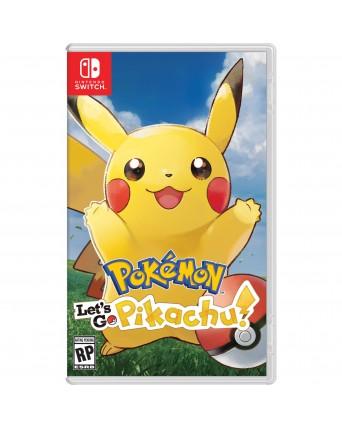 Pokemon Lets Go Pikacu Nintendo Switch NAUDOTAS