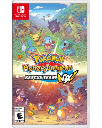 Pokemon Mystery Dungeon Rescue Team Nintendo Switch NAUDOTAS