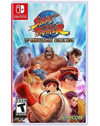 Street Fighter 30th Anniversary Collection Nintendo Switch NAUDOTAS