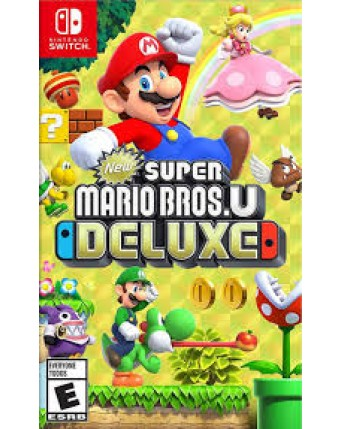 Super Mario Bros U Deluxe Nintendo Switch NAUJAS