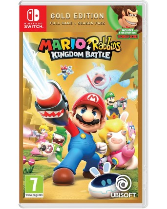 Mario + Rabbids Kingdom Battle Gold Edition Nintendo Switch NAUJAS