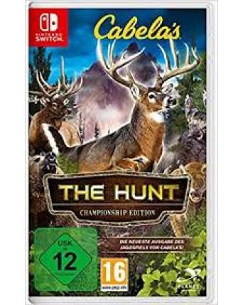 cabelas the hunt championship edition nintendo switch NAUDOTAS