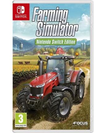 Farming simulator nintendo switch edition NAUDOTAS
