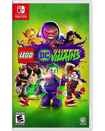 Lego dc Super Villains nintendo switch NAUJAS