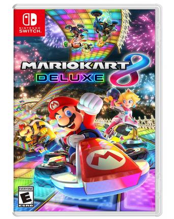 Mario Kart 8 Deluxe NAUDOTAS