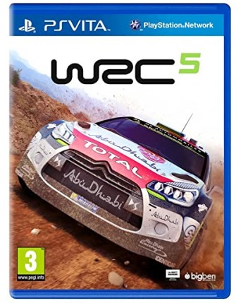 WRC 5 PS Vita NAUDOTAS