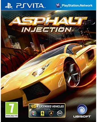 Asphalt Injection Ps Vita NAUDOTAS