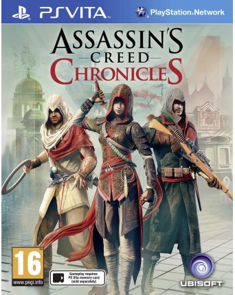 Assassins Creed Chronicles Ps Vita NAUDOTAS