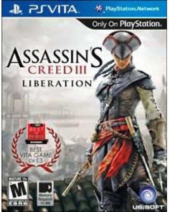 Assassins Creed III Liberation Ps Vita NAUDOTAS