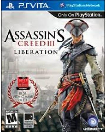 Assassins Creed III Liberation Ps Vita NAUDOTAS