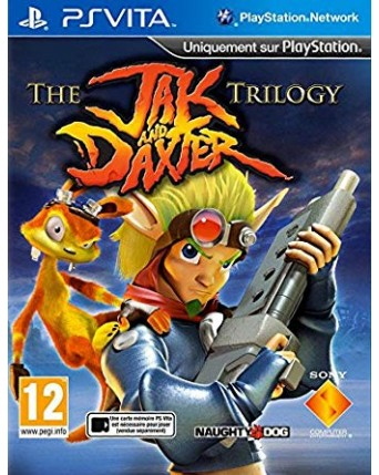 The Jak And Daxter Trilogy Ps Vita NAUDOTAS