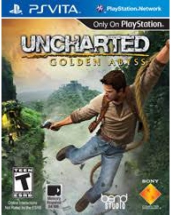 Uncharted Golden Abyss Ps Vita NAUDOTAS