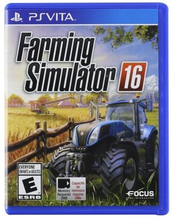 Farming Simulator 16 ps vita naudotas