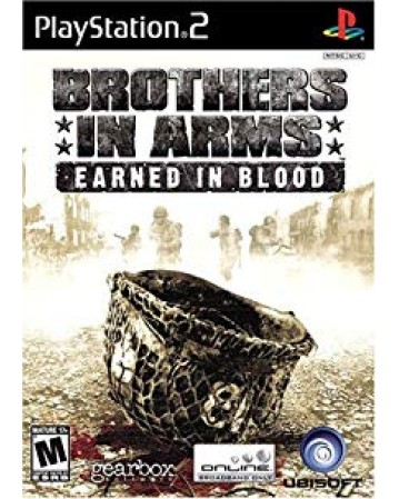 Brothers In Arms Earned In Blood Ps2 NAUDOTAS