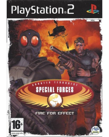 CT Special Forces Fire For Efect Ps2 NAUDOTAS