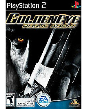 Golden Eye Rogue Agent Ps2 NAUDOTAS