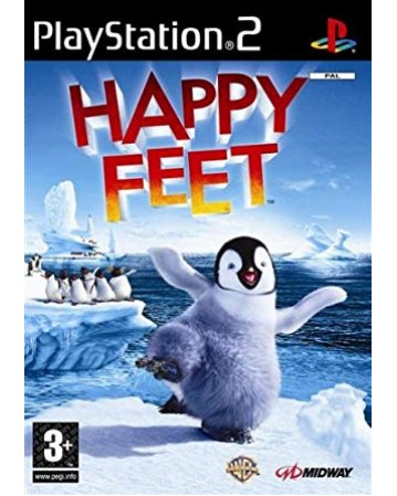 Happy Feet Ps2 NAUDOTAS