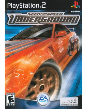 Need For Speed Underground Ps2 NAUDOTAS