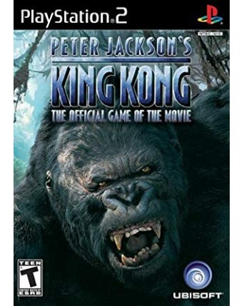 Peter Jacksons King Kong Ps2 NAUDOTAS