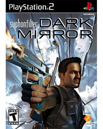 Syphon Filter Dark Mirror Ps2 NAUDOTAS