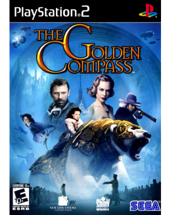 The Golden Compass The Officia Videogame Ps2 NAUDOTAS