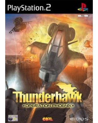 Thunderhawk Operation Phoenix Ps2 NAUDOTAS