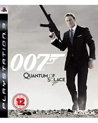 007 Quantum Of Solace Ps3 NAUDOTAS