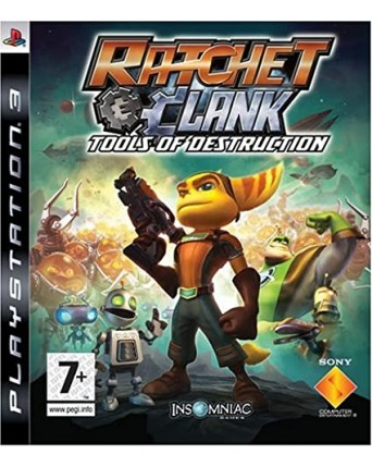 ratchet and clank tools of destruction ps3 NAUDOTAS
