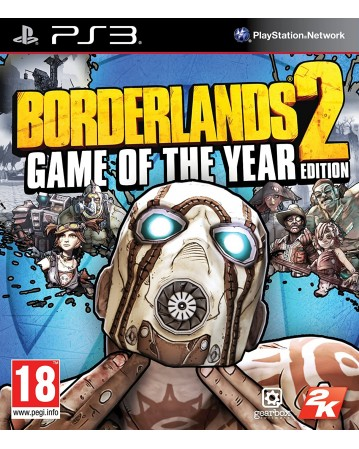 Borderlands 2 game of the year edition Ps3 naudotas