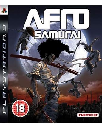 Afro Samurai Ps3 NAUDOTAS