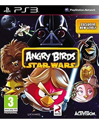 Angry Birds Star Wars Ps3 NAUDOTAS