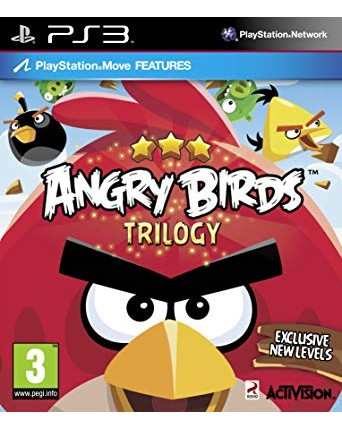 Angry Birds Trilogy Ps3 NAUDOTAS