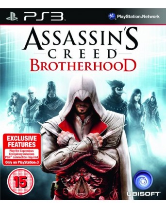 Assassins Creed Brotherhood Ps3 NAUDOTAS
