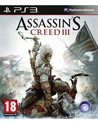 Assassins Creed III Ps3 NAUDOTAS