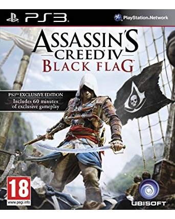 Assassins Creed IV Black Flag Ps3 NAUDOTAS