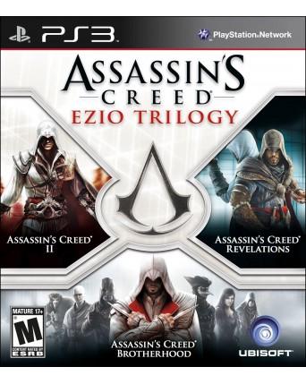 Assassins Creed Ezio Trilogy PS3 NAUDOTAS