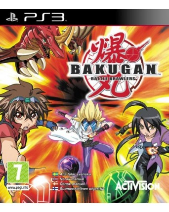 Bakugan Battle Brawlers ps3 NAUDOTAS