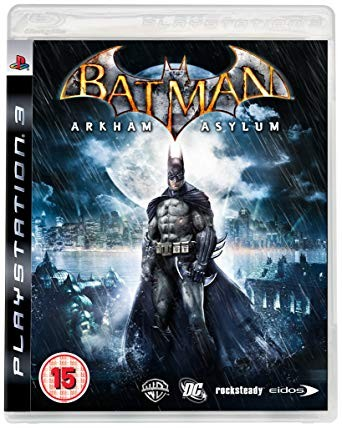 Batman Arkham Asylum Ps3 NAUDOTAS
