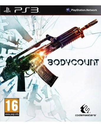 Bodycount Ps3 NAUDOTAS