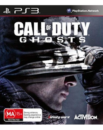 Call Of Duty Ghosts Ps3 NAUDOTAS