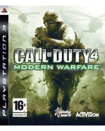 Call Of Duty Modern Warfare 4 Ps3 NAUDOTAS