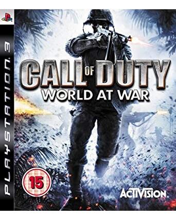 Call Of Duty World At War Ps3 NAUDOTAS