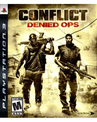 Conflict Denied Ops Ps3 NAUDOTAS